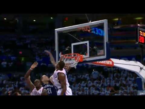Tayshaun Prince Throws Down on the Thunder