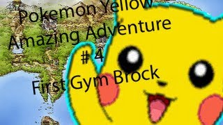 Awesome Pokemon Journey Yellow! Episode 4 - First Gym Brock!
