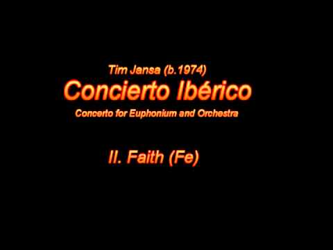 Tim Jansa: Concierto Iberico (for Orchestra) - II. Faith