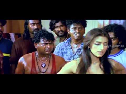 Santa Movie Scenes - Shivrajs rowdies meeting Aarti to make...
