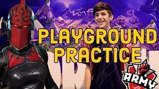 How To Practice In Playground xd ft. Martoz