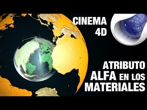 Tutorial cinema4d / Añadir Transparencias a un material by @ildefonsosegura