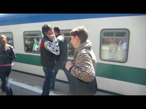 ЧС7-144 с поездом №005Ф «Узбекистан» Ташкент – Москва прибывает на Казанский вокзал
