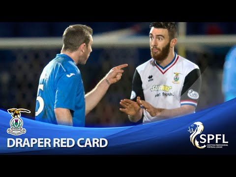Draper sent off for lashing out at Lappin