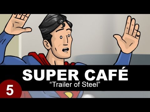 Super Cafe: Trailer Of Steel