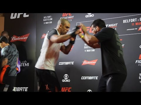Vitor Belfort UFC Fight Night 106 Open Workout