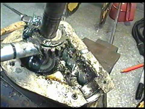 REPAIR of The Blown Snowblower Auger Gear Case Part 2 of 4