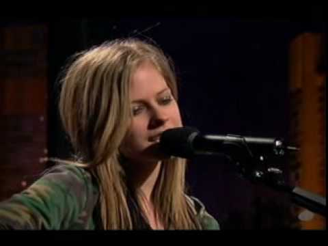 Avril Lavigne - Don't Tell Me - Acoustic Live video