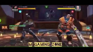 Captain America infinity war Vs cable Mcoc