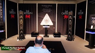 NEW Gryphon Audio Ethos CD Player FULL DEMO Trident II Mephisto Pandora  @ Munich High End 2019