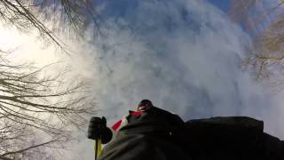 Labrador Mountain GoPro Skiing 2