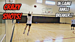 H.O.R.S.E. AND GAME WITH MY SISTER! - BROKEN ANKLES!!