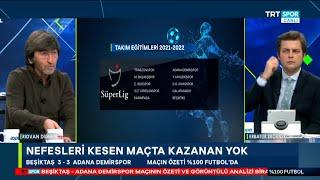 Rıdvan Dilmen ve Erbatur Ergenekon ile %100 Futbol   Beşiktaş-Adana Demirspor  