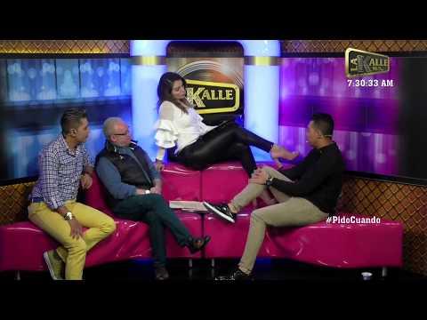Marilyn Patiño fue piropeada por Lokillo, Morgan y Carlos Giraldo