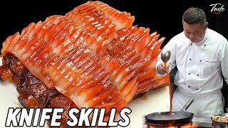 Satisfying Knife Skills - Cut Seafood l Chinese Food by Master Chef