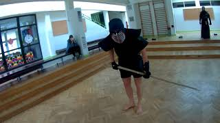 Jukendo Keiko with Steve Kelsey - Day 2 (sports cam)