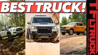 The 2021 Chevy Colorado Gets A Nose Job - Here's What's New And What's Not With All Midsize Trucks!