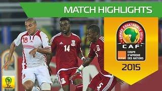 Can 2015 | 1/4 finale - Tunisie 1-2 Guinée équatoriale