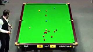 RONNIE O'SULLIVAN BEST SHOT 2012 MASTERS