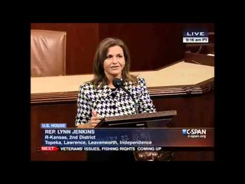 Congresswoman Jenkins Discusses Keystone XL Pipeline on House Floor