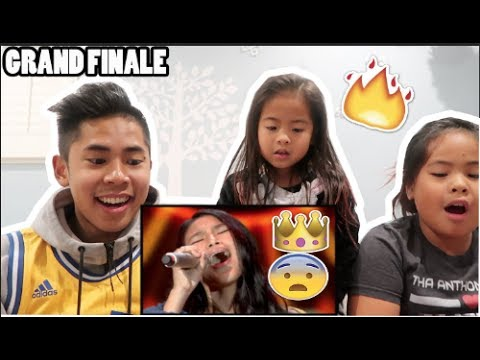 MUST SEE! ANNETH - REWRITE THE STARS - GRAND FINAL - Indonesian Idol Junior 2018 REACTION!