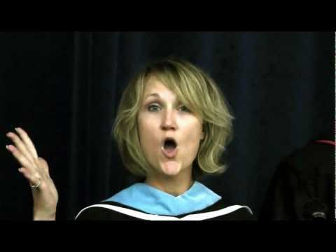 Funniest Graduation Speech Ever! 1st of Its Kind! Lakeview HS 2012
