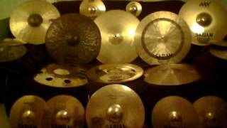Sabian Cymbal Tour *Old, but still good*