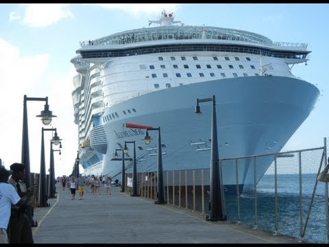 Allure of the Seas visits St Kitts for the first time ( Worlds Largest ) !!!!!!!!!!!!!!!!