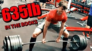 635lb Deadlift | Training Updates