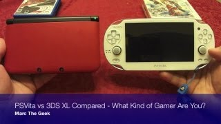 PSVita vs 3DS XL Compared - What Kind of Gamer Are You?
