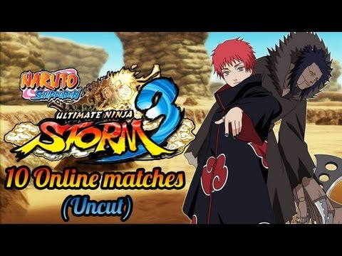 10 Online matches (live) | Naruto shippuden ultimate ninja storm 3
