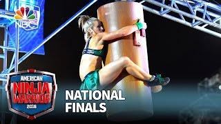 Jessie Graff at the National Finals: Stage 1 - American Ninja Warrior 2016 by : American Ninja Warrior