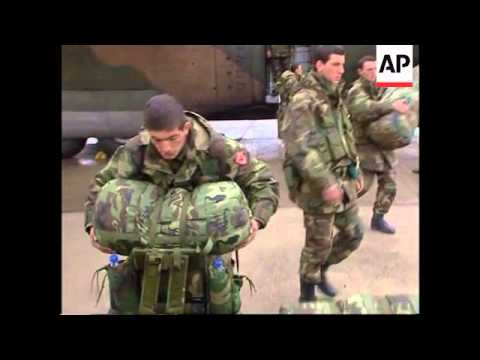 First Turkish troops arrive for Afghan peace mission
