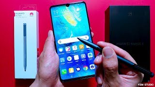 Huawei Mate 20 X & M Pen Unboxing & Review (4K)