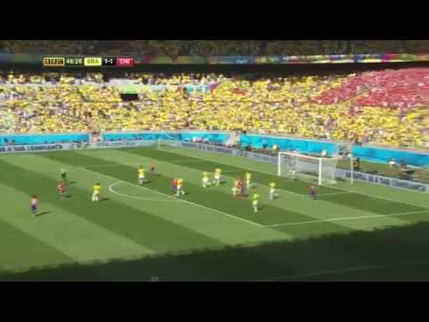 Brazil Chile 2014 World Cup 2 of 7 Full Game