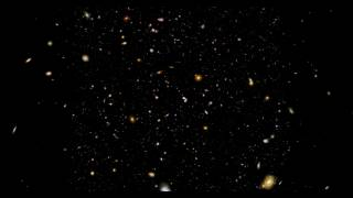 Hubble Ultra Deep Field in 3D and 4K