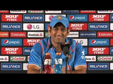 2015 Wc: Ms Dhoni On Wining Matches By Hitting A Six video
