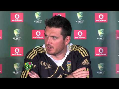 Graeme Smith press conference - Nov 8th