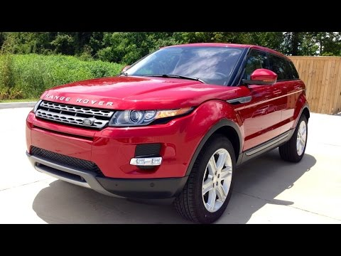 2015 Range Rover Evoque Full Review. Start Up. Exhaust