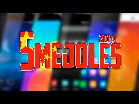 Los 5 mejores smartphones chinos de 2014