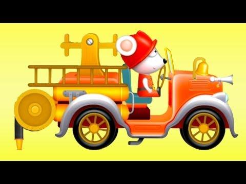 Мультфильм про Пожарную Машину - обзор детского приложения Тачки: Операция Спасения