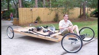 Giant Mousetrap powered Car by : TheBackyardScientist