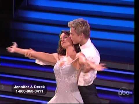 Jennifer Grey & Derek Hough - Viennese Waltz (longer clip)