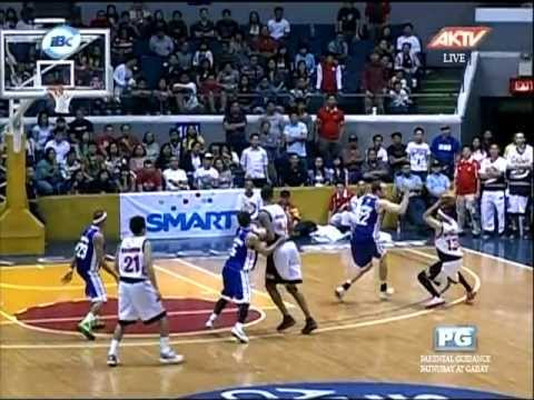 "GINEBRA VS PETRON - HELTERBRAND""S NEVER SAY DIE CLUTCH SHOTS IN THE 4TH Q"