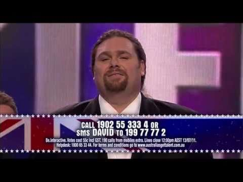 David De Vito - Nessun Dorma - Australia's Got Talent - [Complete] Music Videos