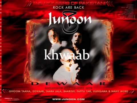 Junoon-Khwaab (with lyrics karaoke) HQ