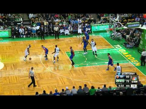 Jeff Green Highlights Knicks vs. Celtics 12.12.2014 - 28 Points, 6 Rebounds