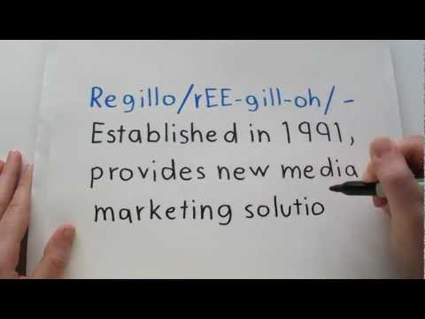 Regillo/rEE-gill-oh: Established in 1991 - The Old NEW MEDIA Marketing Co.