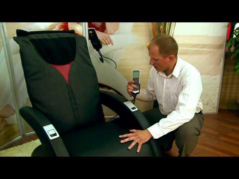 Видео как выбрать массажное кресло