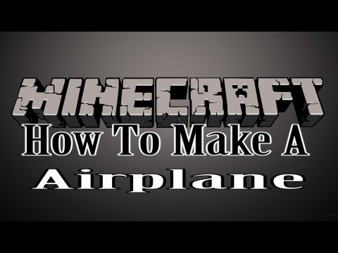 how to build a plane in minecraft ps3
